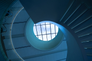 Milwaukee-Symphony-Orchestra-building-spiral-stairs-©Lauri-Novak