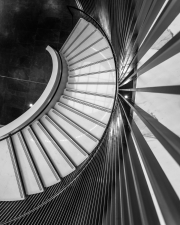Milwaukee-Symphony-Orchestra-building-lines-down-stairs-©Lauri-Novak
