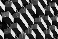 Contrasting-Balconies-Chicago-©2019-Lauri-Novak