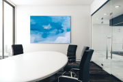 Arctic Ice in a modern conference room