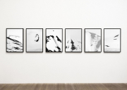 Gallery wall of Arctic Mountain Abstracts
