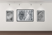 Gallery wall of Blind Abstracts