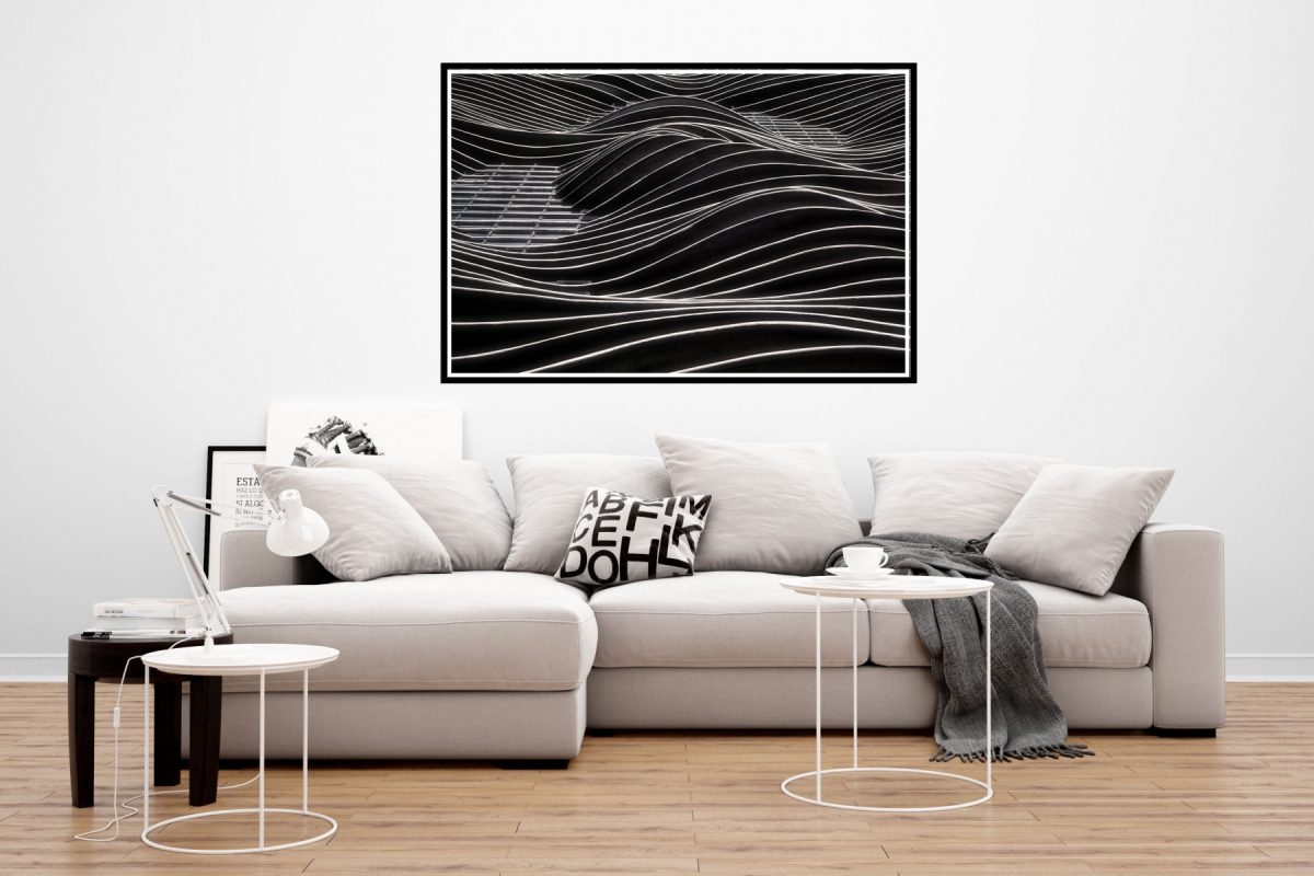 Fine art room mock-ups
