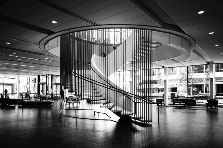 The Spiral Staircase at Milwaukee Symphony Orchestra